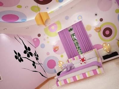dormitorio diseño chicas