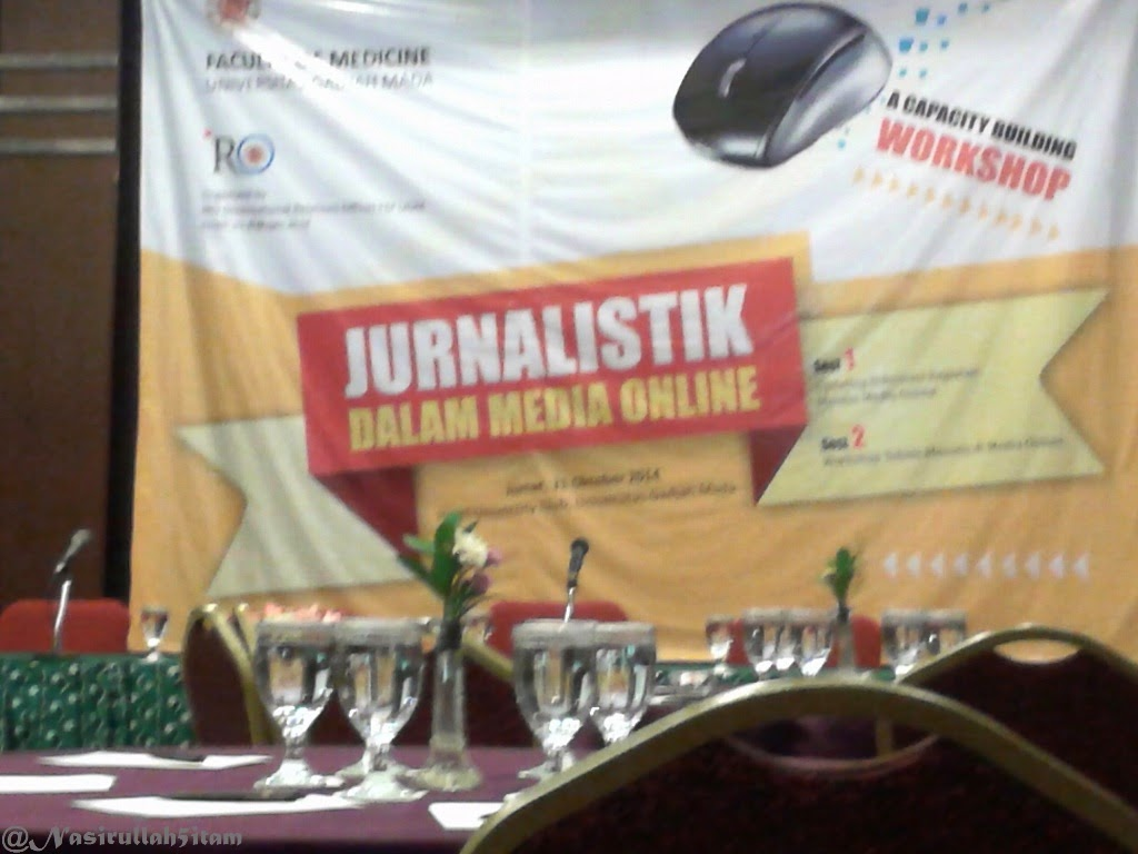 Pelatihan Jurnalistik dalam Media Online