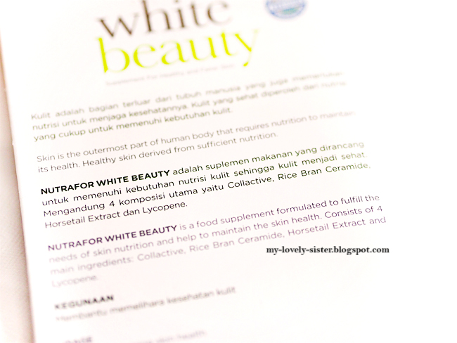 Monday's Love Pick 12 : Nutrafor White Beauty