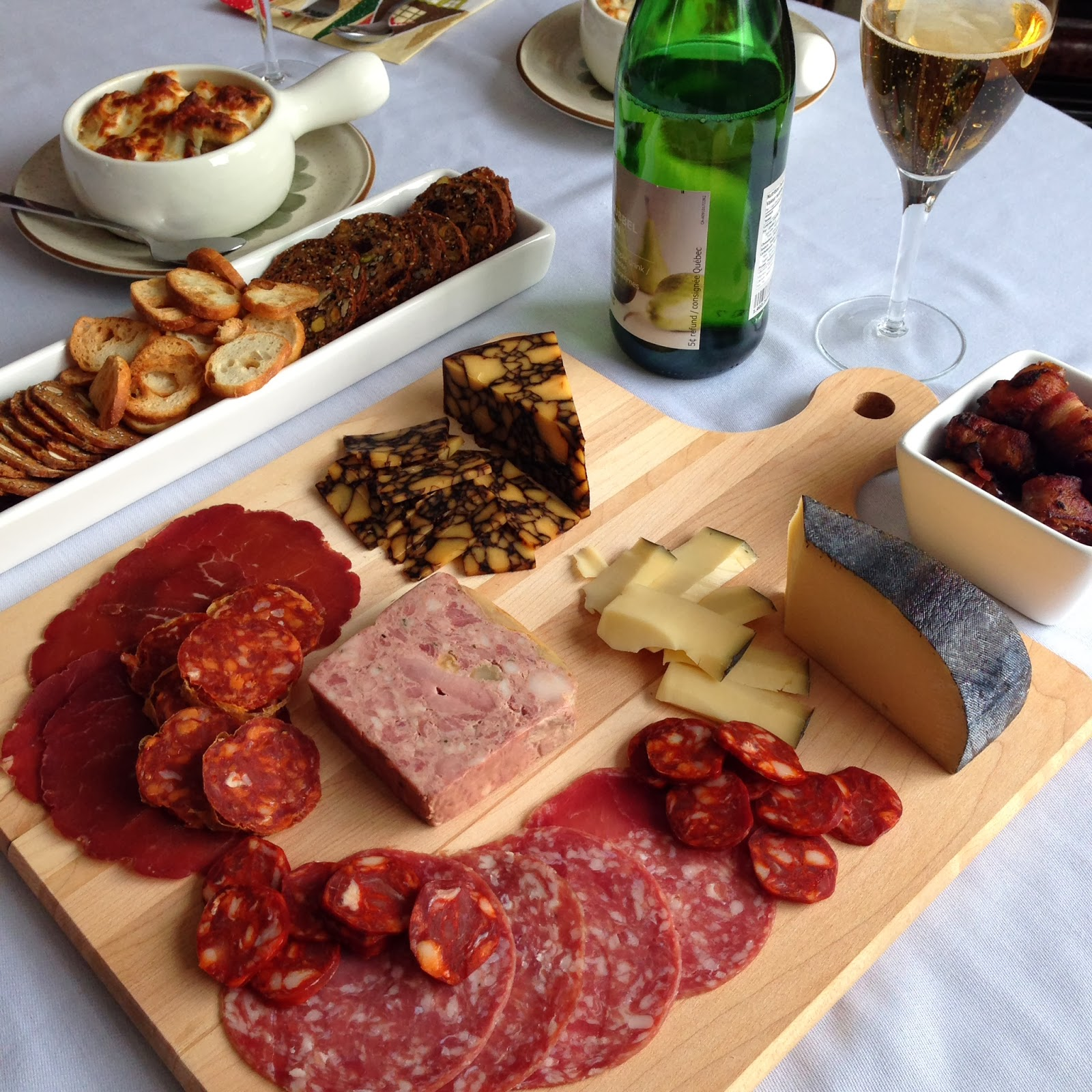An Elegant Presentation for a Charcuterie Party