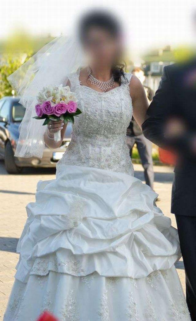 Suknie ślubne Vestido Suknia ślubna Dla Wysokiej Dziewczyny
