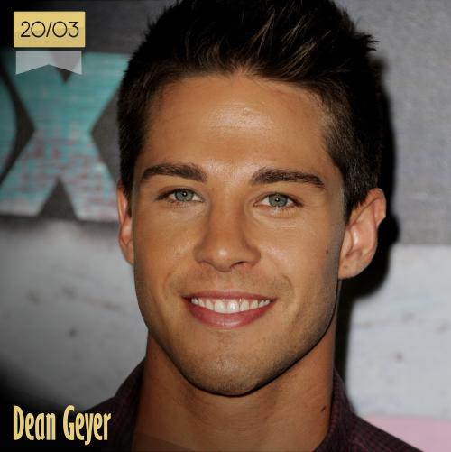 20 de marzo   Dean Geyer - @realDeanGeyer   Info + vídeos
