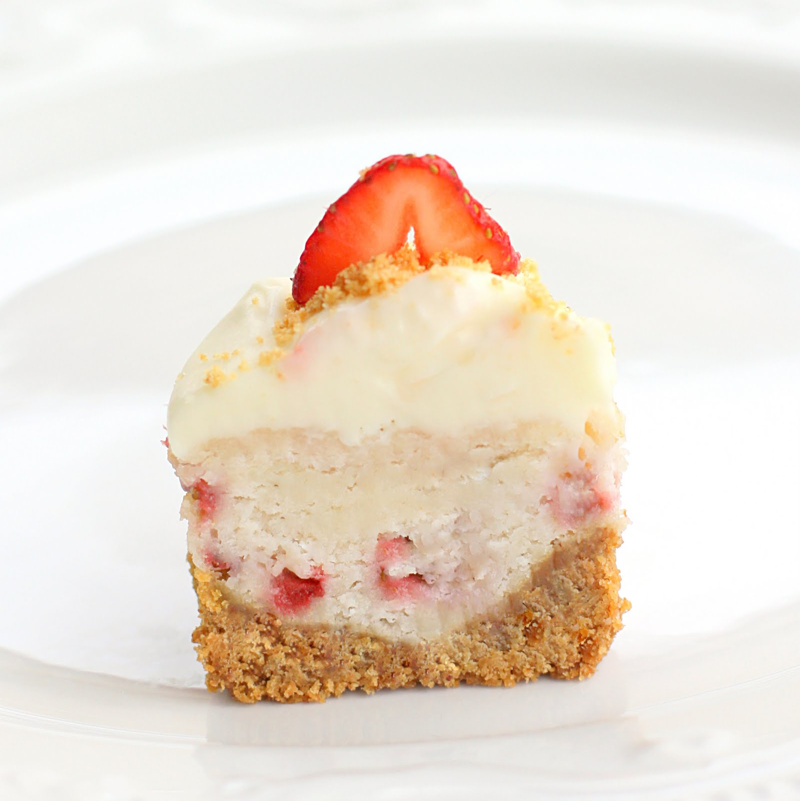 Love to Cook: Strawberry Cheesecake Cupcakes (The Girl Who ...