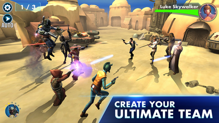 Star Wars: Galaxy Of Heroes Free App Game By Electronic Arts