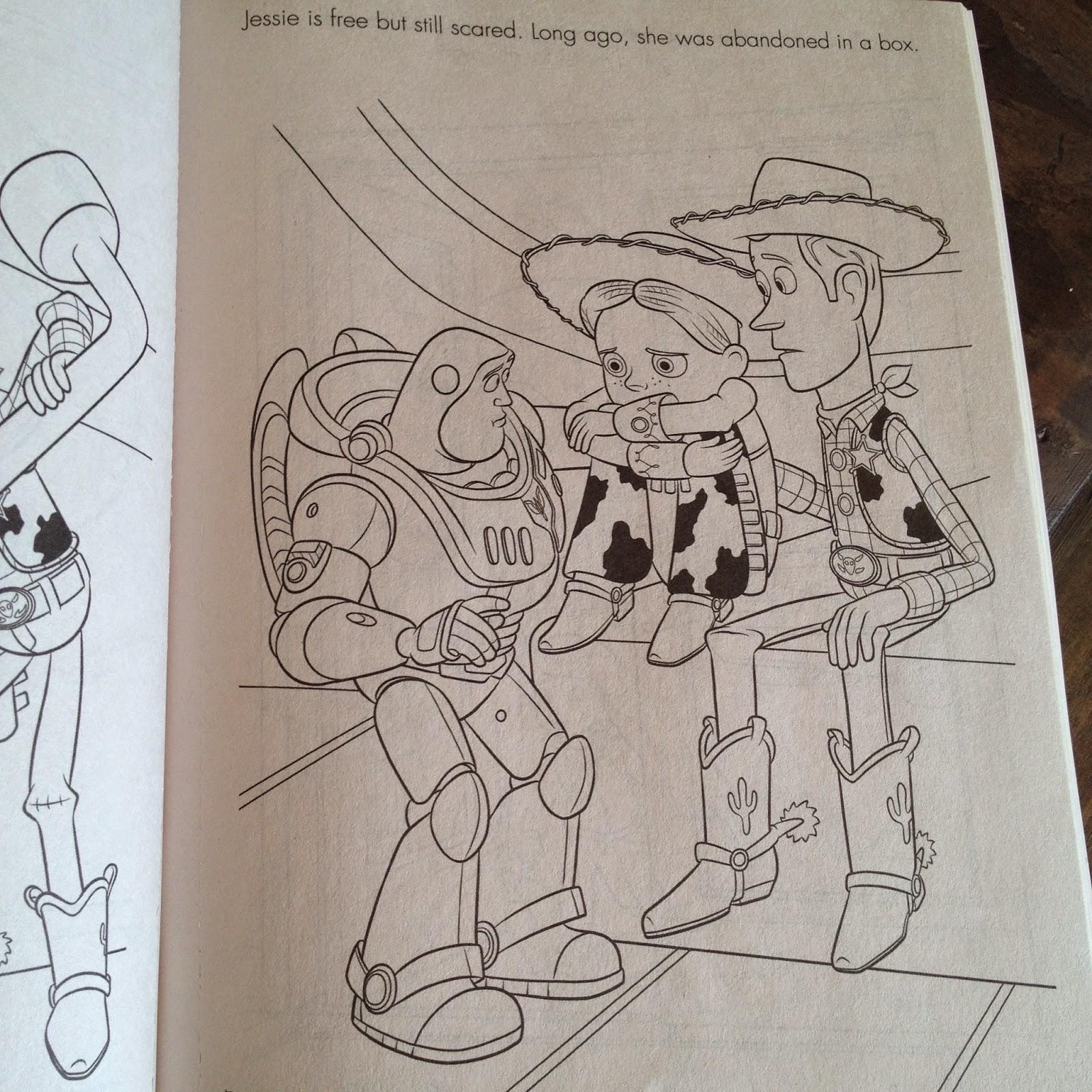dan the pixar fan toy story of terror coloring book