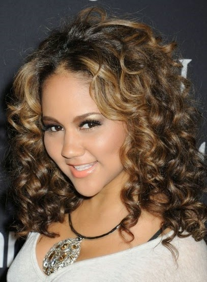 Curly Hairstyle 2012