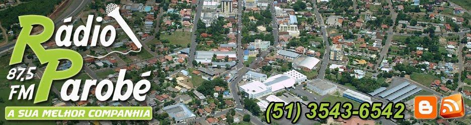 RÁDIO PAROBÉ - 87.5 FM