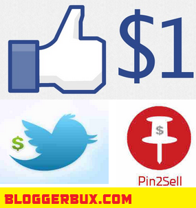 BloggerBux 50 ways to make money online selling services on social media