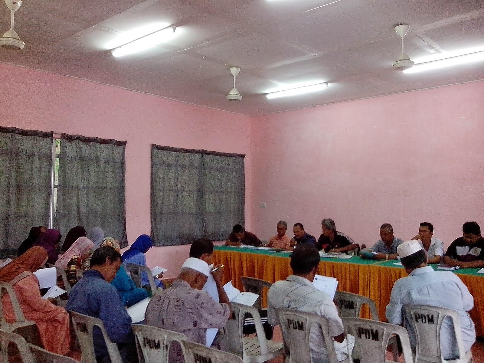 Mesyuarat Agong Pasukan BOMBA Sukarela Medan Jaya 2014-2015 ( Pemilihan )