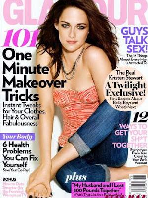 capa da revista Glamour de novembro 2011