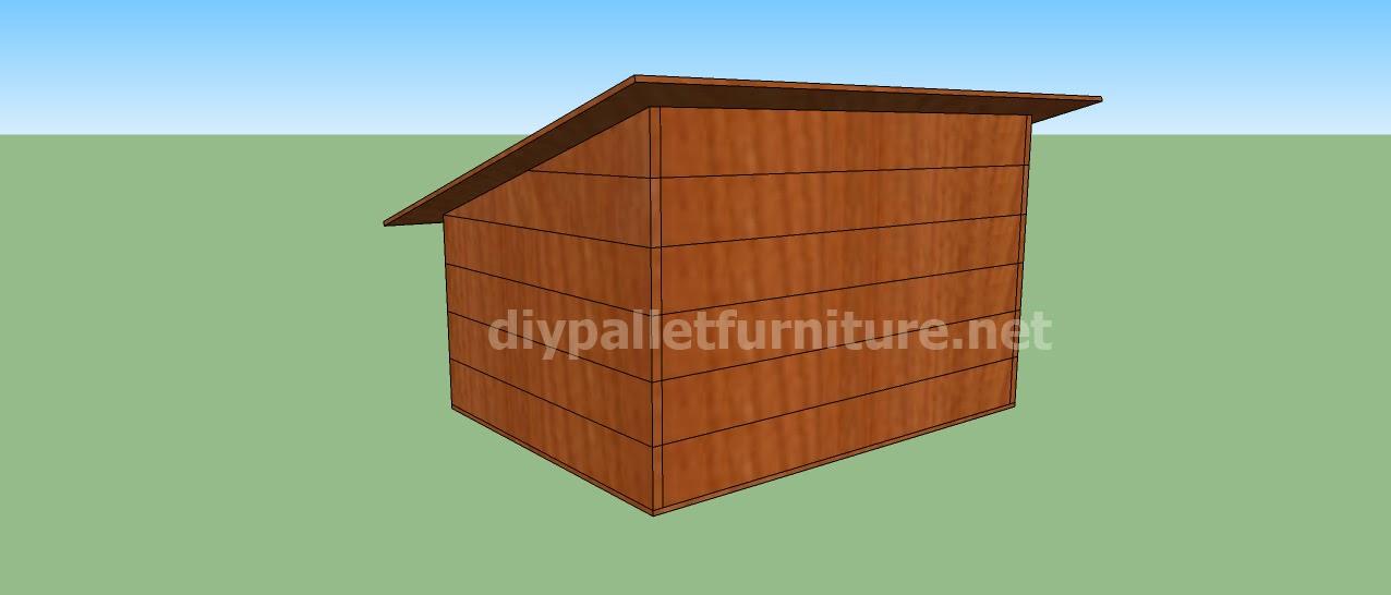 Como hacer una caseta de madera awesome caseta de madera for Como hacer una caseta de jardin