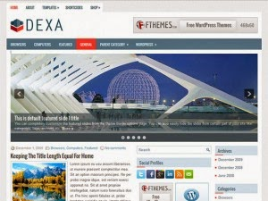 Dexa - Free Wordpress Theme