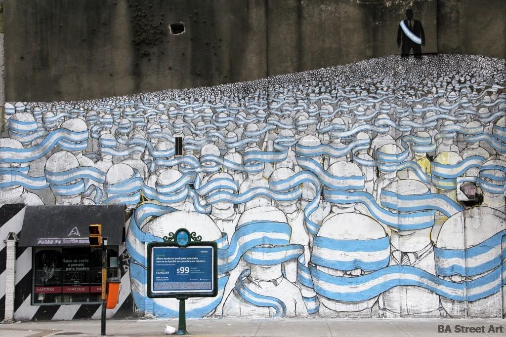 Blu new mural in buenos aires argentina streetartnews for El mural pelicula argentina