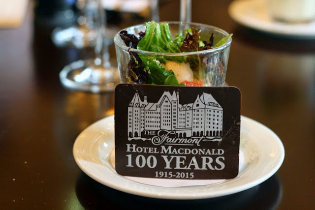 with a 100 year chocolate plaque