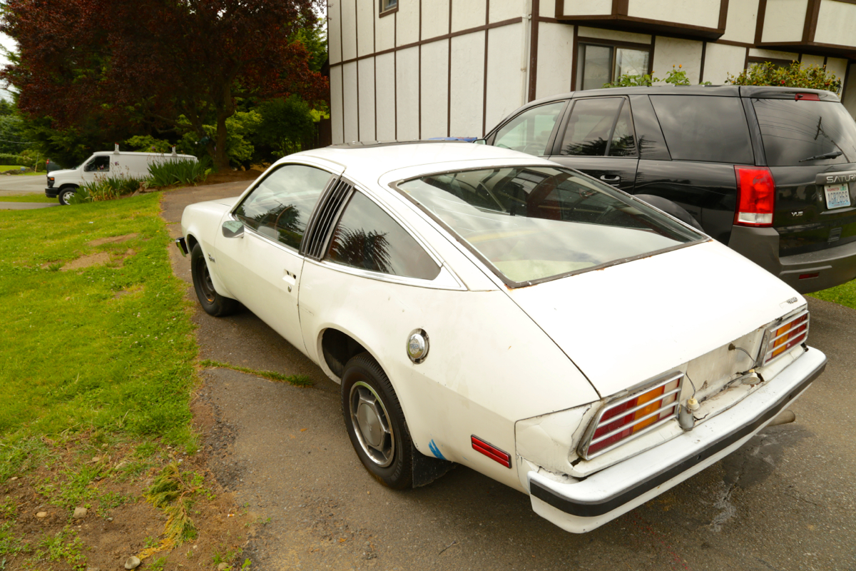 1980 Pontiac Sunbird Fastback.