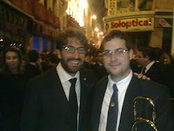 Antonio Garrido y Miguel Jurado