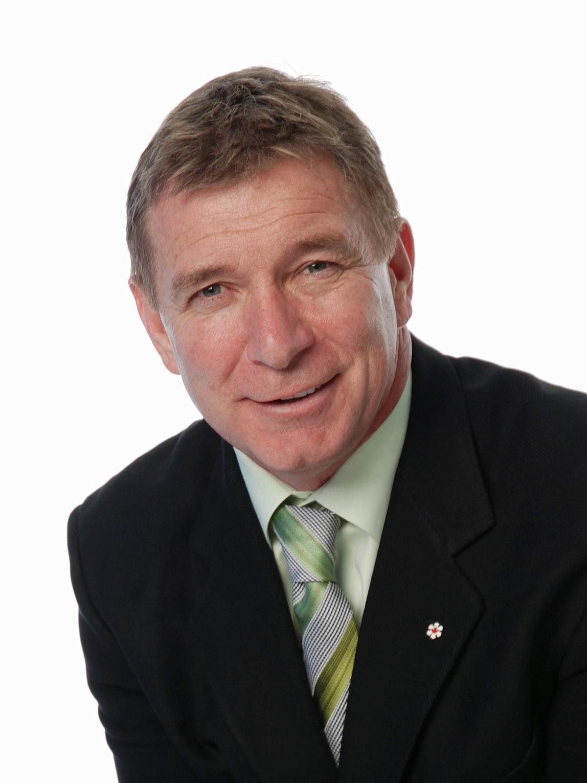 Rick hansen founding chair of the fraser river sturgeon conservation