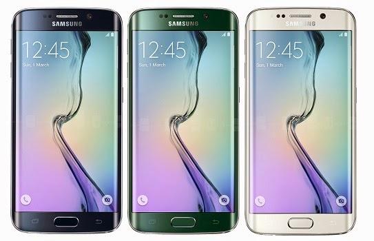 Pilihan Warna Samsung Galaxy S6 edge