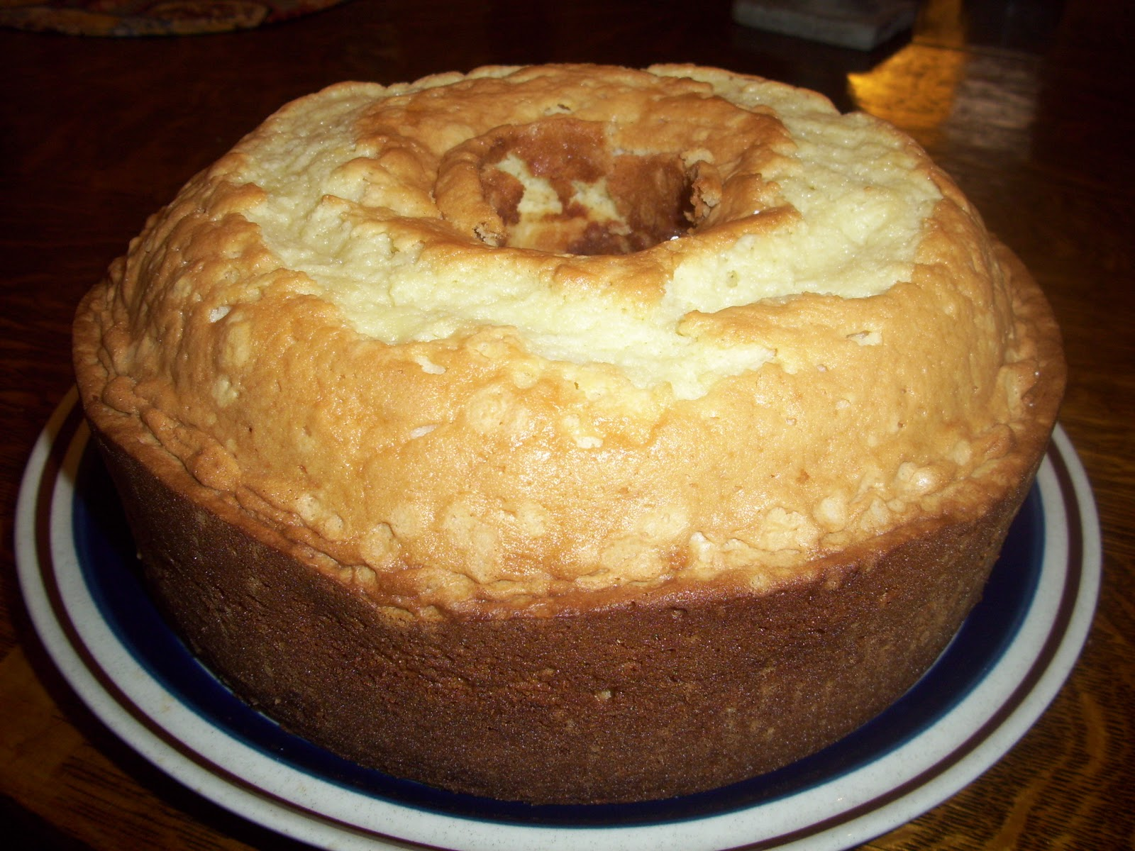 Old Fashioned Pound Cake with Fudgy Butterscotch Dunking Sauce - Be My