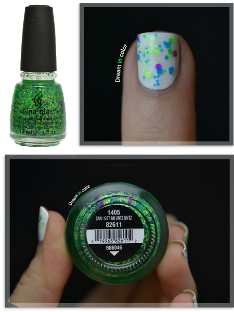 China Glaze Can I get an untz untz