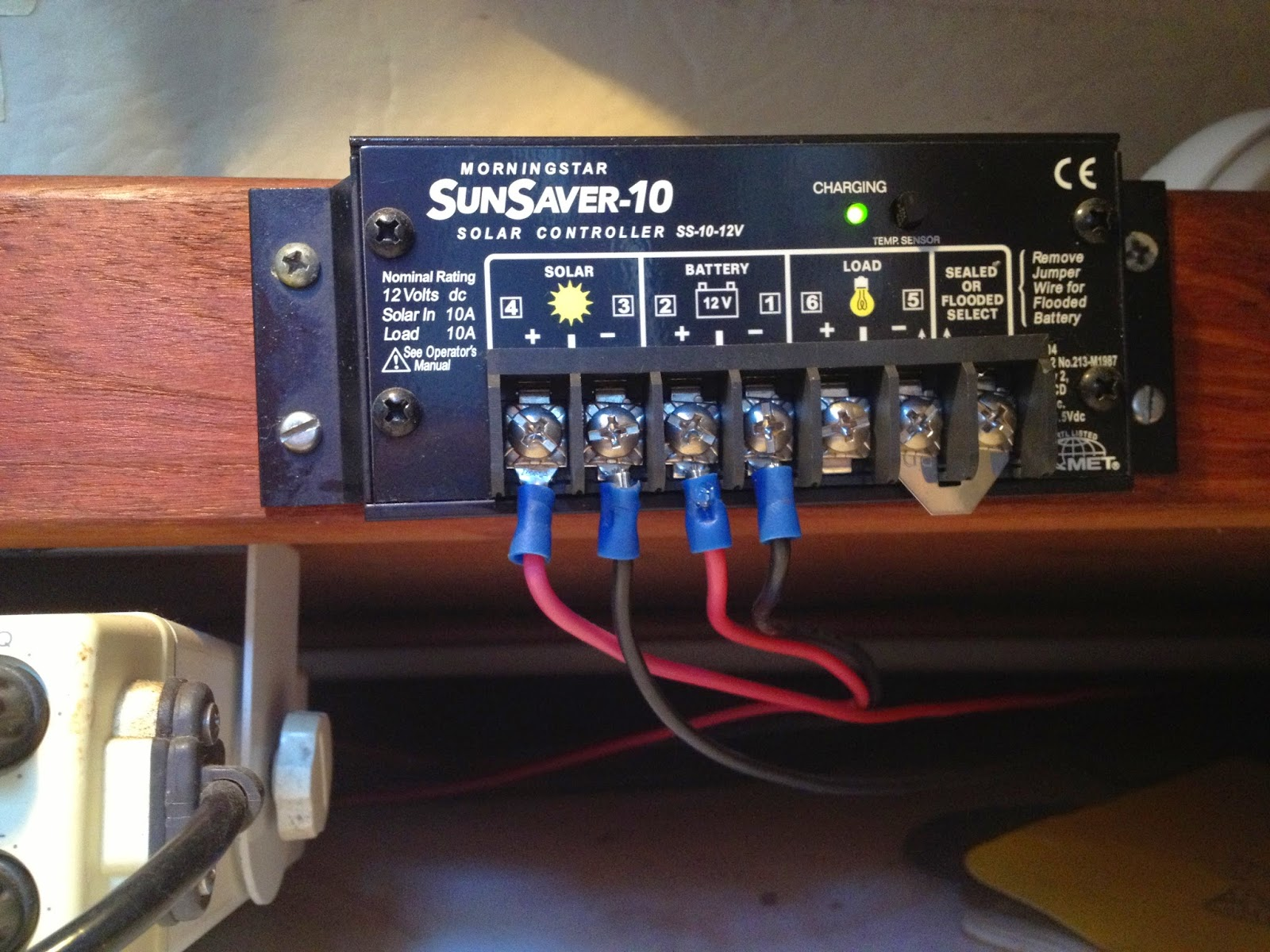 Power Panel Wiring Diagrams Boat Stereo Amp Diagram Captain Curran S Sailing Blog Solar Panels For Boats An Electric