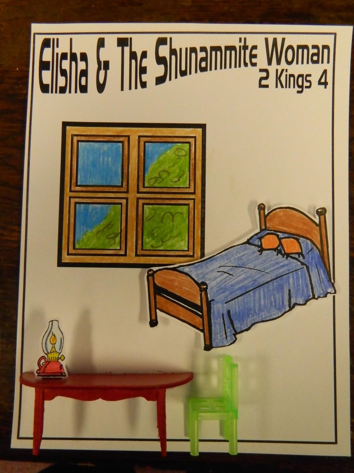 hands on bible teacher elisha and the shunamite woman
