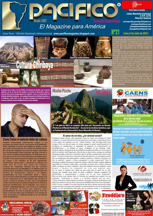 Revista Pacífico Nº 21 Arqueología