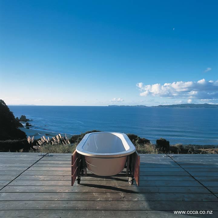 Arquitectura de Casas: Moderna casa de madera en la playa en Nueva ...