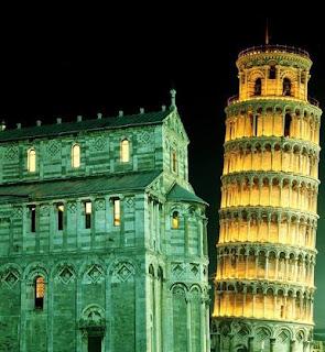 Kenapa Menara Pisa Bisa Miring ? - bintancenter.blogspot.com