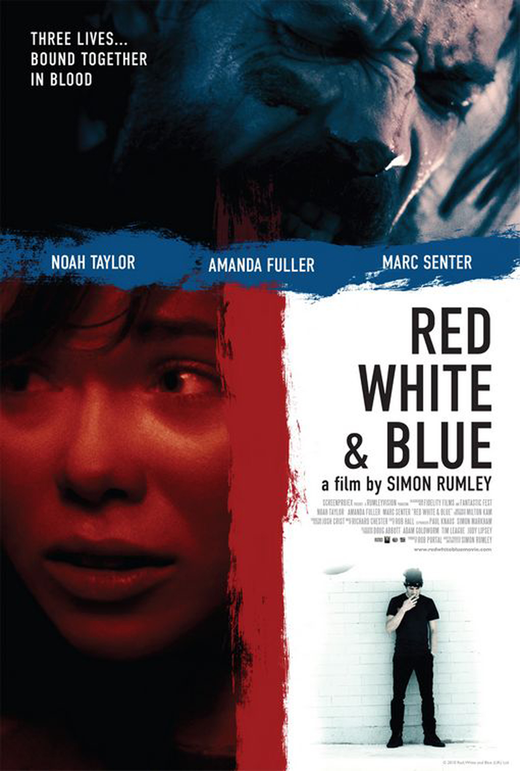 Red, White & Blue affiche