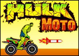 Hulk Moto Oyunu