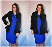 Outfit Of The Day: Electric Blue Dress