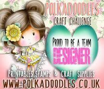 I'm DT member of Polkadoodles Craft Challenge