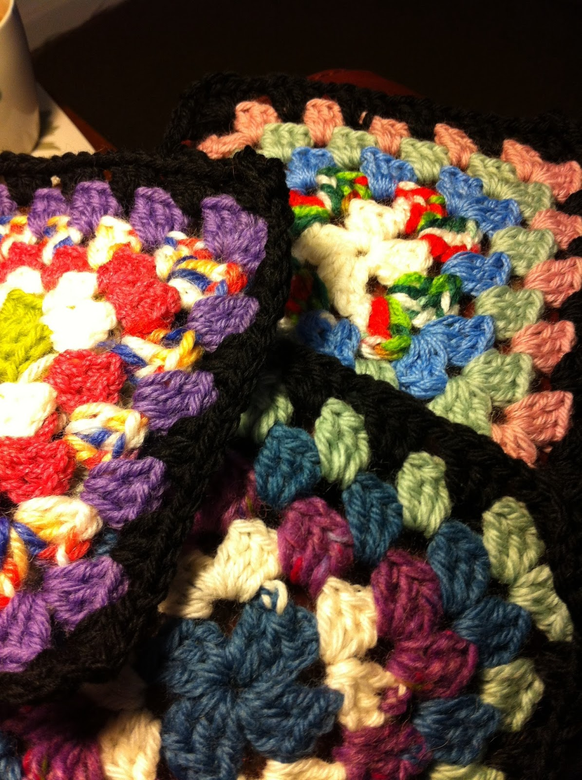 Sue\'s Craft Cupboard: Winter Crochet and Knitting.