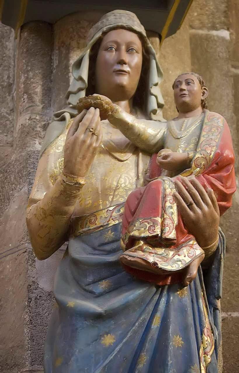 Nossa Senhora, catedral de Ávila, Espanha