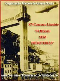 XV CONCURSO LITERÁRIO POESIAS SEM FRONTEIRAS