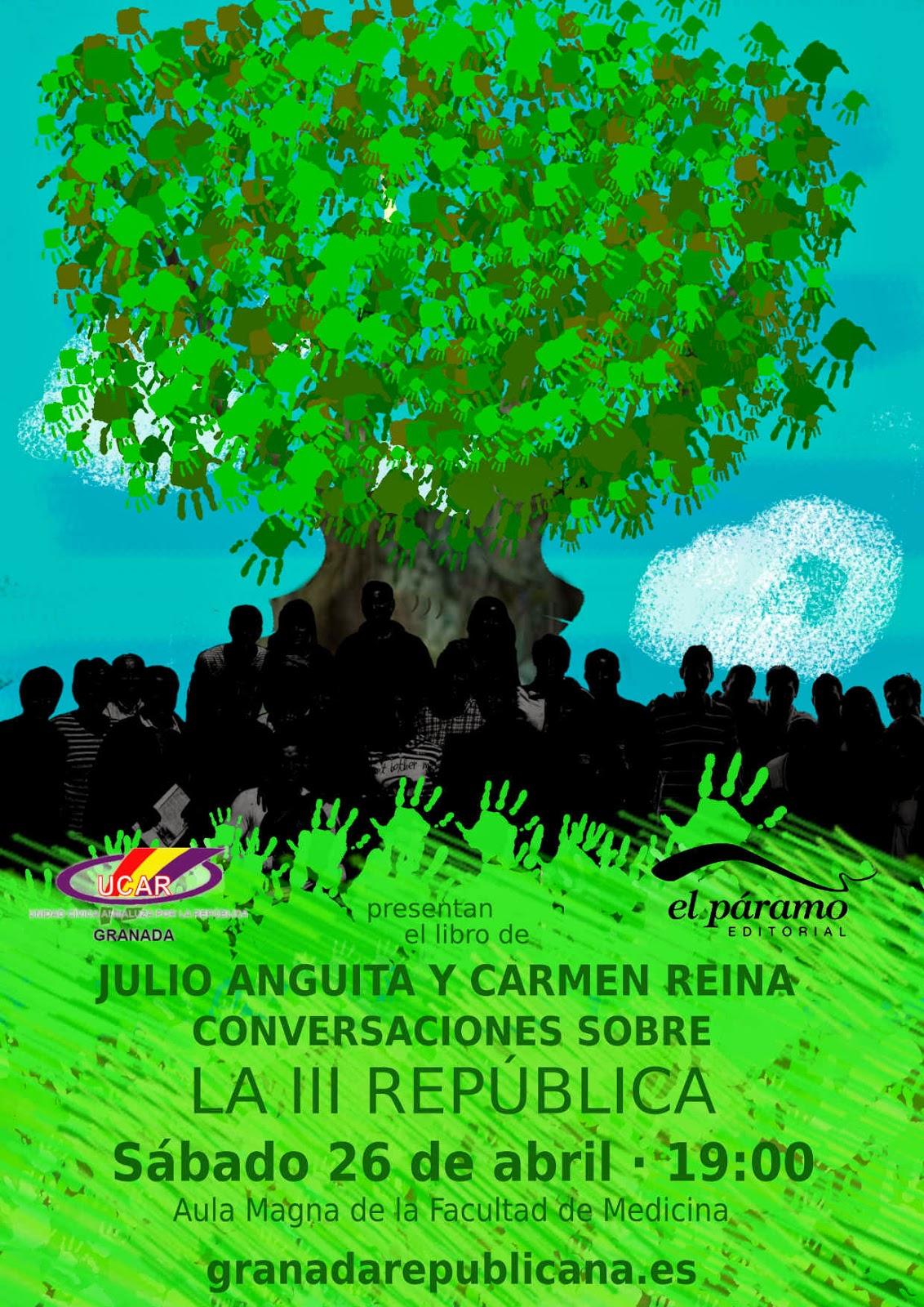 """SALUD Y TERCERA: Presentaci ón en Granada - """"Conversac"""