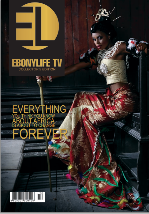 EbonyLife TV Launch its first magazine Issue
