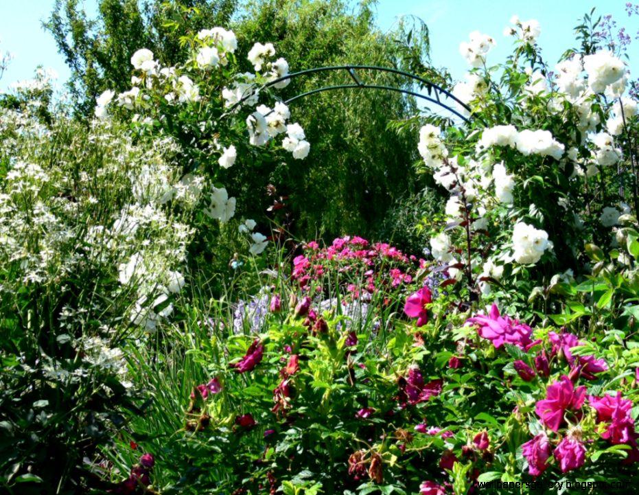 English Garden Wallpaper   WallpaperSafari