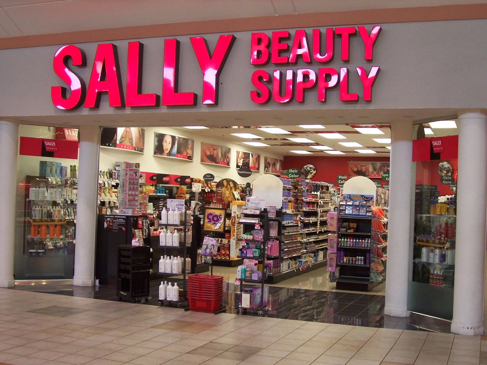 Sally Beauty make up cosmetics