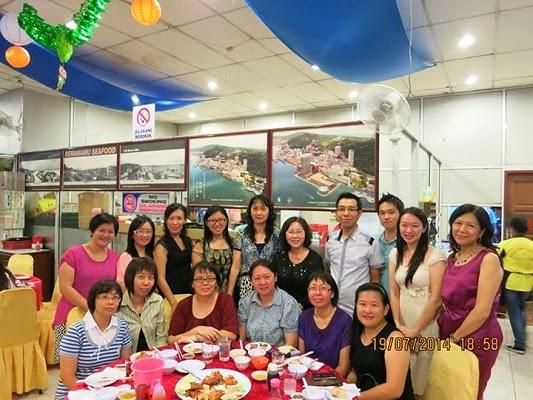 2014年山打根区华小华幼董事联合会与华小工委会所主辨的教师节晚宴