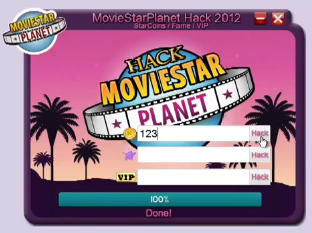 starcoins and fame and vip hack multihack moviestarplanet starcoins