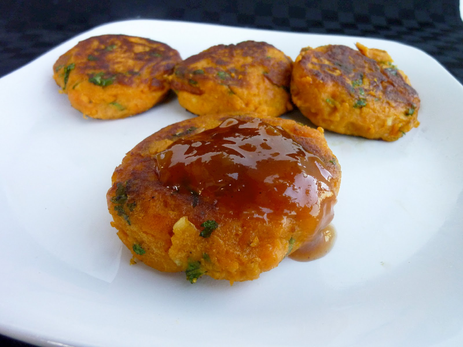 Vanilla & Spice: Sweet Potato Patties