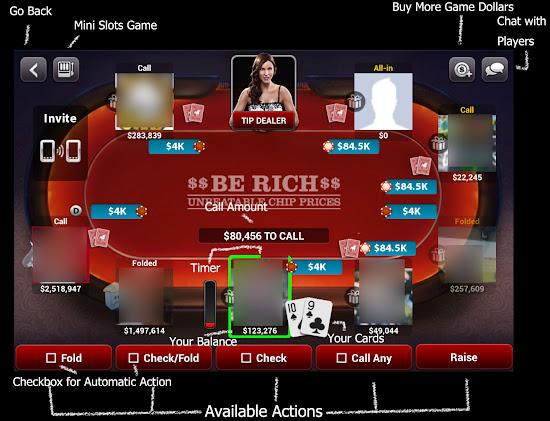 Zynga Poker Table Preview