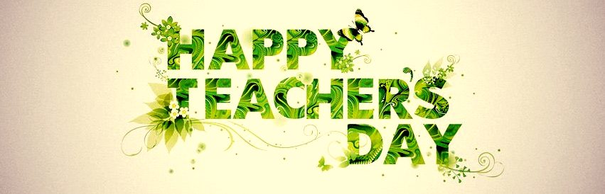 Happy Teachers Day Facebook (FB) Cover's Pics