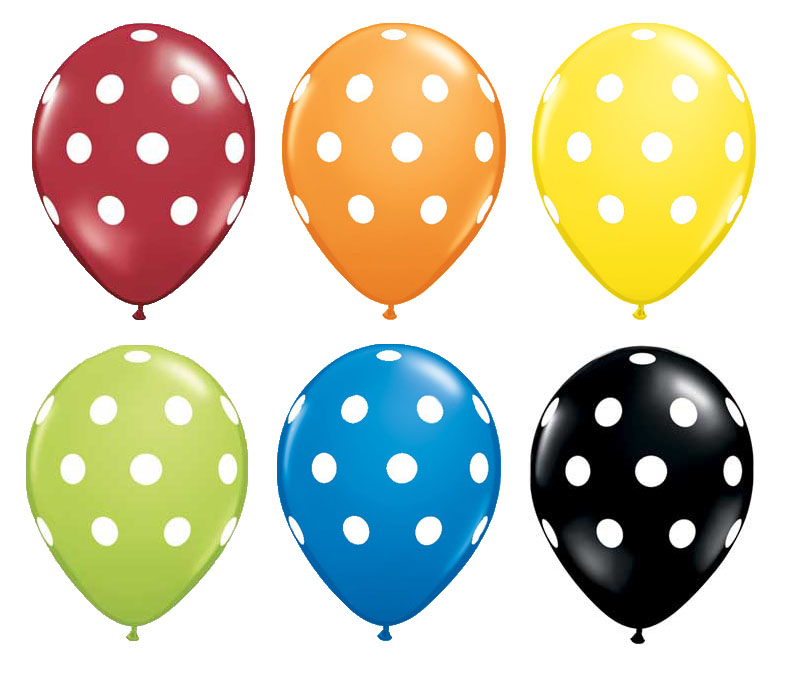5M Creations: New Polka Dot Balloons at 5M Creations