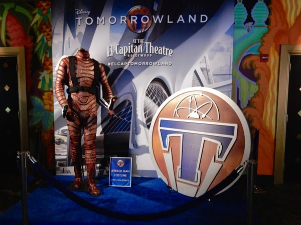 Tomorrowland jetpack man costume