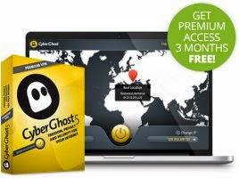 CyberGhost 5 Premium VPN Serial Keys Giveaway Official for 3 months အလကားရၿပီ..