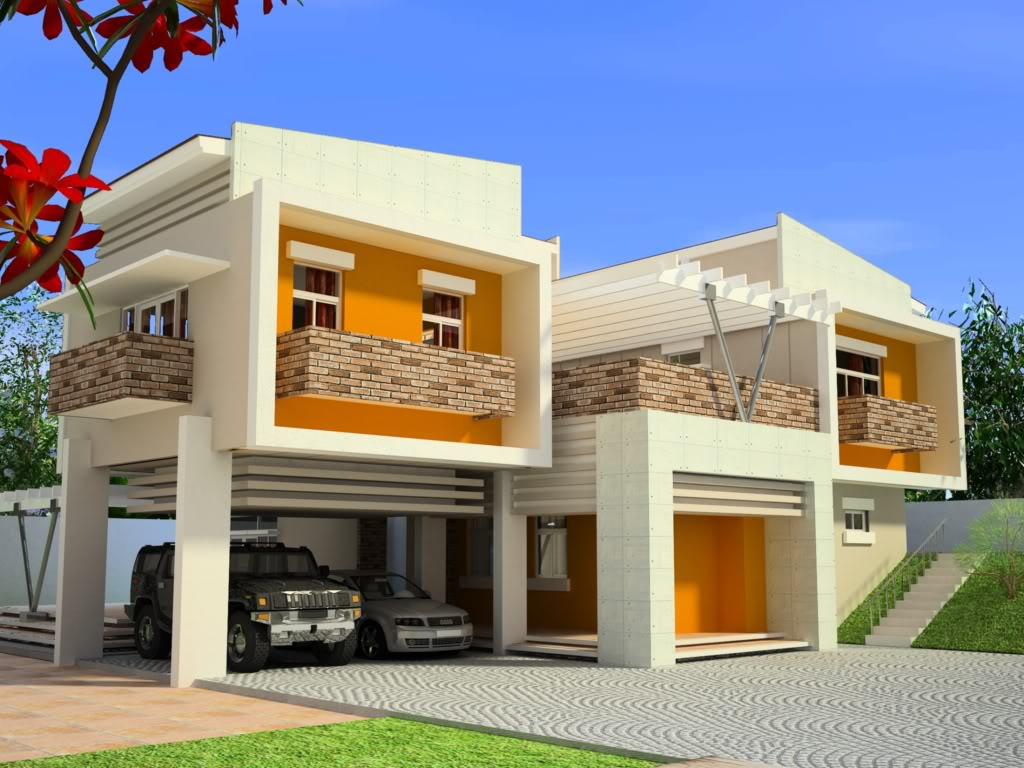 Modern home design in the philippines modern house plans for Innovative house plans designs