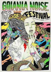 15º Goiânia Noise - O maior festival de música independente  do Brasil já debutou